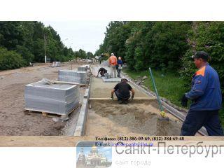 Асфальтирование укладка асфальта ремонт дорог