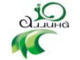 Логотип АЛЛИНА двери из массива