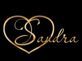 """Логотип Салон-ателье свадебной и вечерней моды """"Sandra"""""""