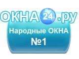 Логотип ОКНА24.РУ