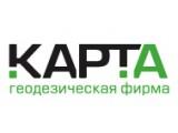 """Логотип Геодезическая фирма """"КАРТА"""", ООО"""