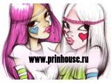 """Логотип Магазин волос """"Домик Принцессы"""""""