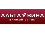 Логотип Альта Вина, винный бутик