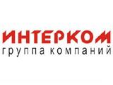 Логотип Интерком, строительная компания