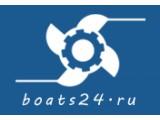 Логотип Лодочный мотор, катера и лодки, ООО