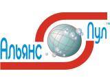 Логотип Альянс-Пул, строительная компания