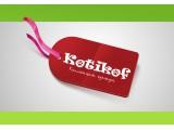 Логотип KOTIKOF трикотаж
