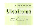 Логотип LikeHome Hostel