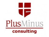Логотип PlusMinus Consulting, ПлюсМинус Консалтинг