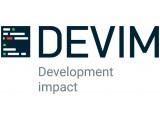 Логотип Devim - Development Impact