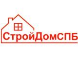 """Логотип """"СтройДомСПБ"""" строительство домов"""